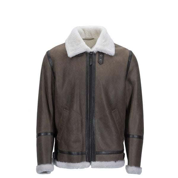 MENS CLASSIC BOMBER JACKET - Beige / 48 - Unclassified