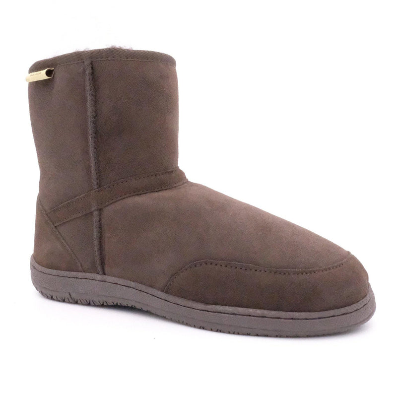 MAWSON (CLASSIC BOOT) - BROWN / M9/W10 - Footwear Black Sheep Australia black sheep classic boot mawson medical non slip