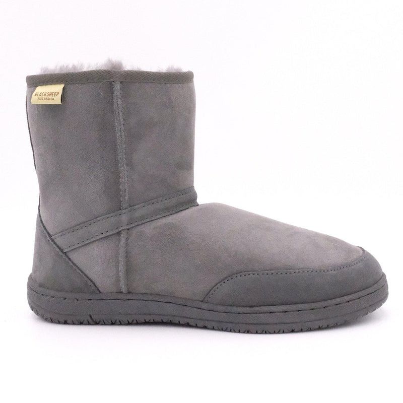 MAWSON (CLASSIC BOOT) - GREY / M9/W10 - Footwear Black Sheep Australia black sheep classic boot mawson medical non slip