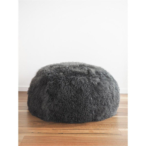 Mongolian Lambskin Bean bag - Accessories Yellow Earth Australia NEW ARRIVAL