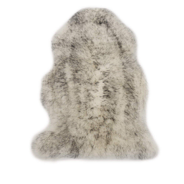 Grey Mist - Large Size- Grey Long Wool Rug - Australian Merino Sheepskin-Sheepskin Rug-Yellow Earth Australia-Yellow Earth Australia