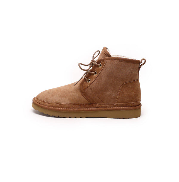 Oliver - Lace-up Casual Sheepskin Boot-Footwear-Y.E. & CO-Yellow Earth Australia