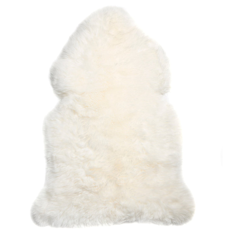 Long Wool Rug - White - Rug Yellow Earth Australia Floor Rug Home Rug Rug Sheepskin Sheepskin Rug