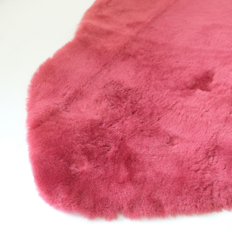 BABY RUG | Rose Red-Lambskin Rug-Yellow Earth Australia-Yellow Earth Australia