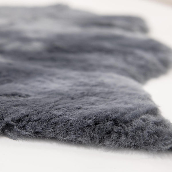BABY LAMBSKIN RUG | NATURAL AUSTRALIAN | FLINT GREY-Lambskin Rug-Yellow Earth Australia-Yellow Earth Australia