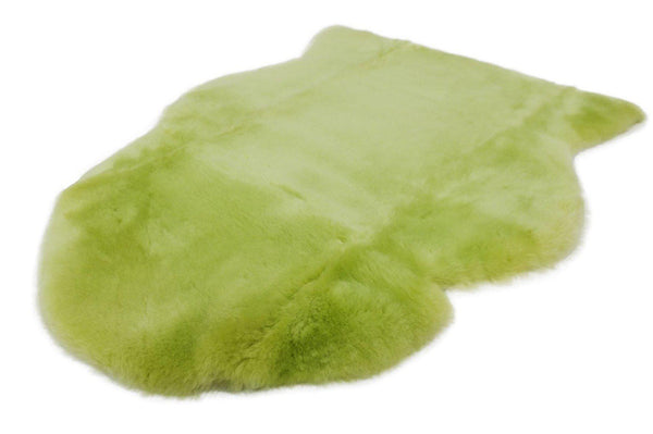 BABY RUG | GREEN-Lambskin Rug-Yellow Earth Australia-Yellow Earth Australia
