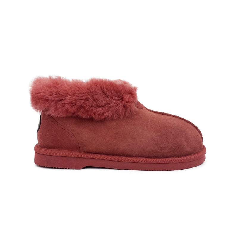 Princess Slipper - Australian Sheepskin Indoor - MARSALA / W5 - Footwear Yellow Earth