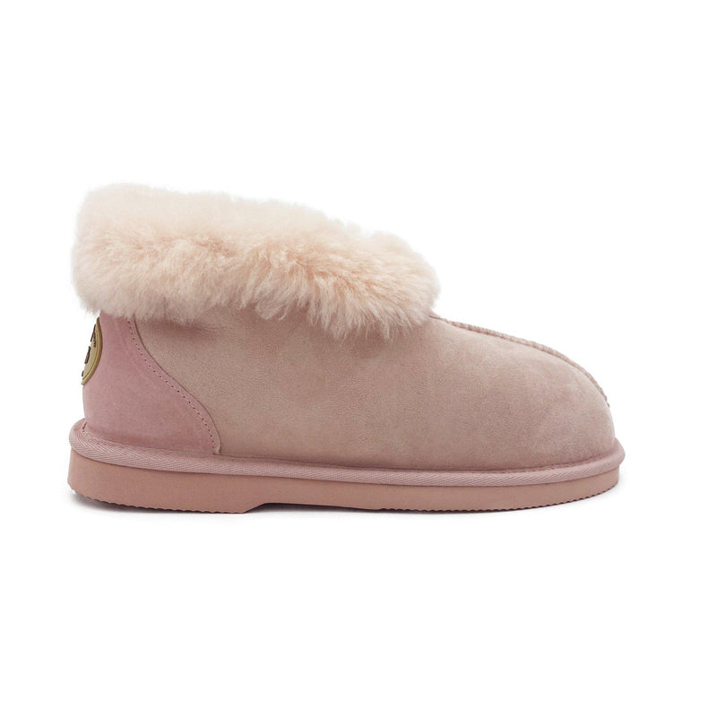 Princess Slipper - Australian Sheepskin Indoor - PINK / W5 - Footwear Yellow Earth