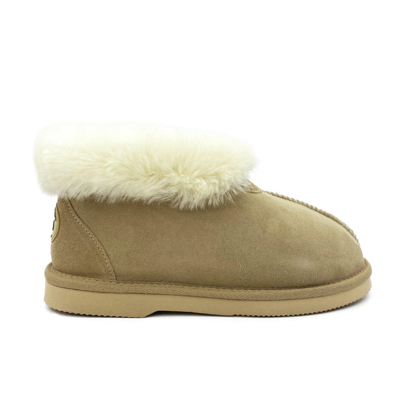 Princess Slipper - Australian Sheepskin Indoor - SAND / W5 - Footwear Yellow Earth