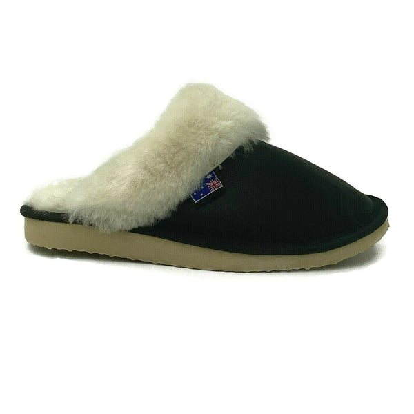 Traditional Womens Sheepskin Scuffs Slippers Ugg - 100% Australian Sheepskin - Footwear Yellow Earth Australia indoor, scuffs, slip ons,