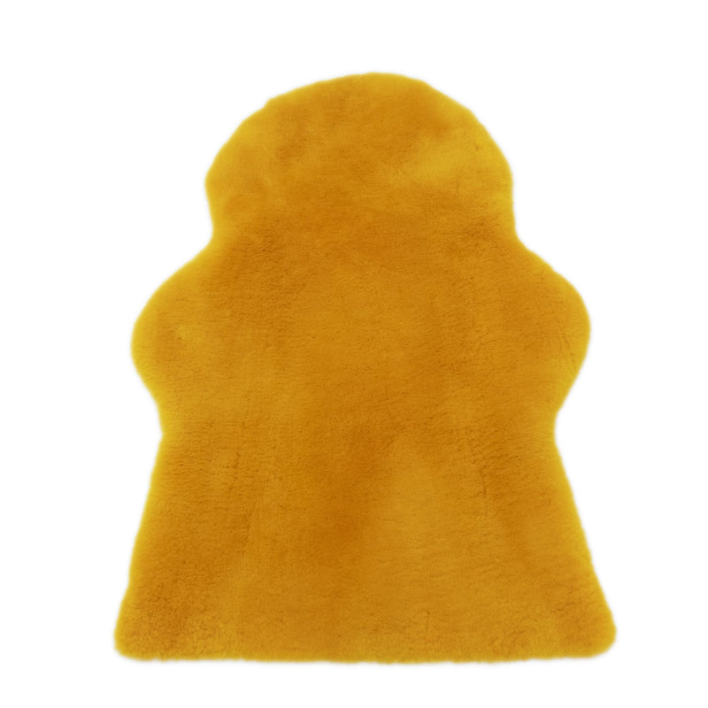 Baby Lambskin Rug - Sunset Orange-Lambskin Rug-Yellow Earth Australia-Yellow Earth Australia