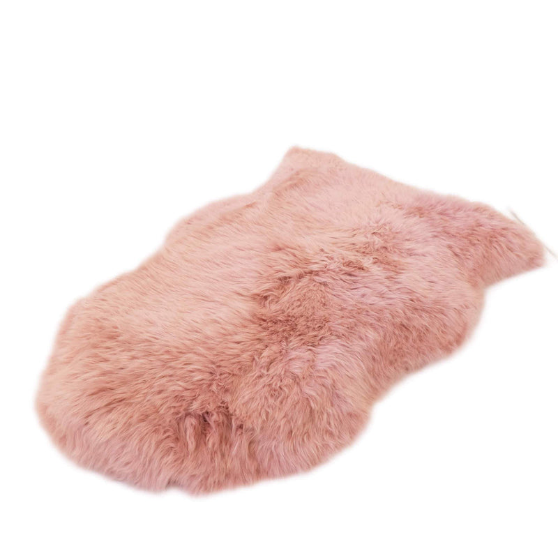Dust Pink - Large Size - Long Wool Rug - Australian Merino Sheepskin-Sheepskin Rug-Yellow Earth Australia-L-Yellow Earth Australia