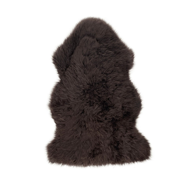 Chocolate - XXXL - Long Wool Sheepskin Rug - Australian Merino Sheepskin