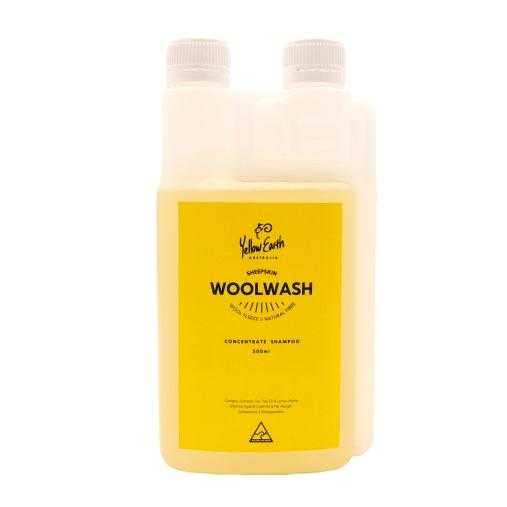 Woolskin Shampoo 500ml - Rug Yellow Earth Australia detergent shampoo sheepskin wash