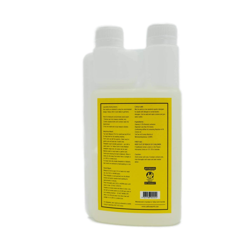 Woolskin Shampoo 500ml-Accessories-Yellow Earth Australia-Default-Yellow Earth Australia