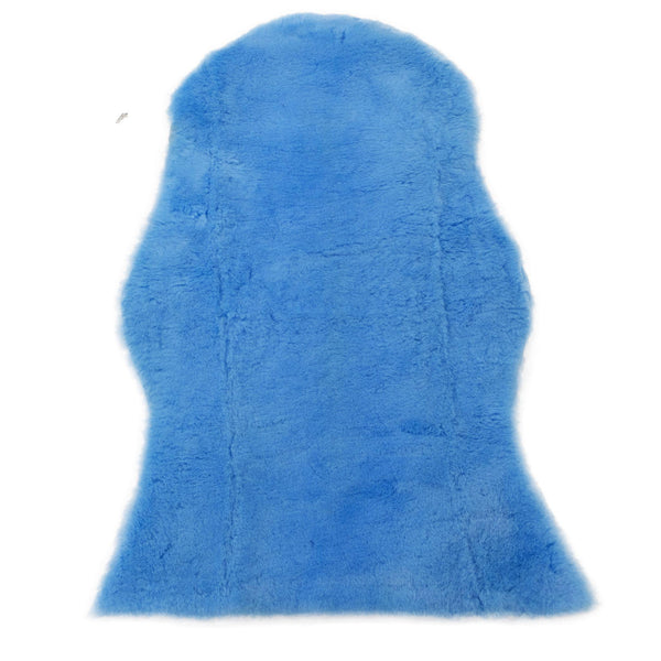 Blue - Baby Rug - Australian Lambskin-Lambskin Rug-Yellow Earth Australia-Yellow Earth Australia