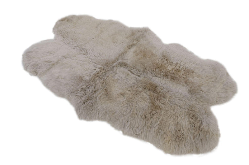 Glacier Grey - Quad Sized (180x110cm) - Long Wool Rug - Australian Merino Sheepskin-Rug-Yellow Earth Australia-Yellow Earth Australia