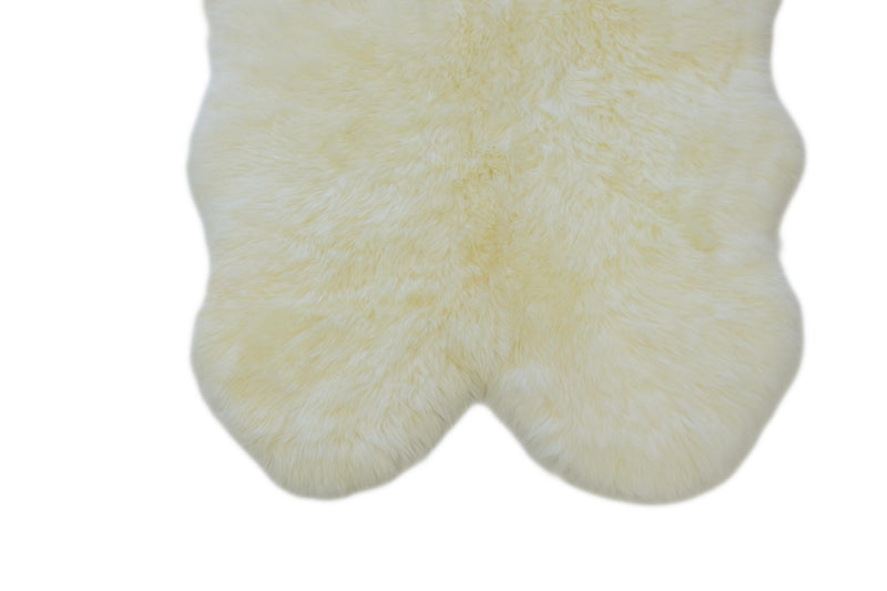 Ivory - Quad Sized (180x110cm) - Long Wool Rug - Australian Merino Sheepskin-Rug-Yellow Earth Australia-Yellow Earth Australia