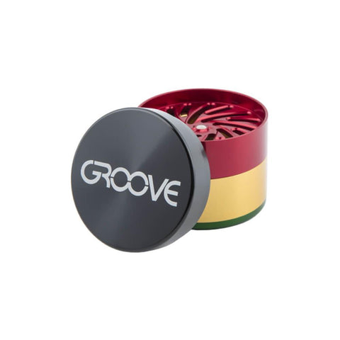 Groove 4-part Grinder by Aerospaced NamasteVapes US
