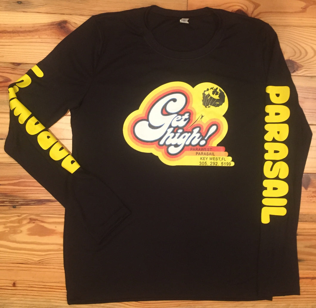 Get High Long Sleeve Performance Shirt