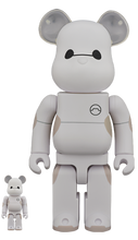 Load image into Gallery viewer, Medicom Bearbrick Baymax 400% and 100%  Be@rbrick Vinyl Figure