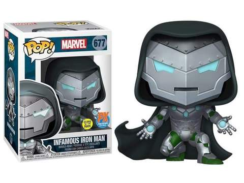 Funko Pop : Iron Man - Infamous Iron Man Glow in the Dark PX Exclusive ( Pre Order Reservation )