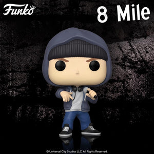 Funko POP 8 Mile - B - Rabbit ( Eminem ) Vinyl Figure