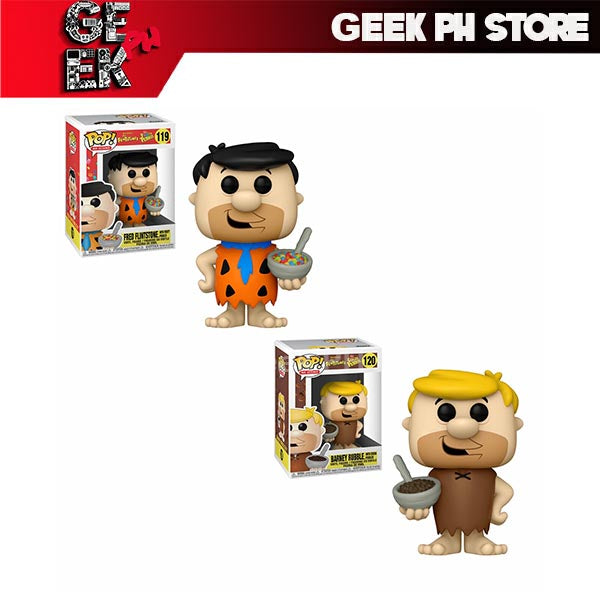 Funko Pop! Ad Icons - Fruity Pebbles - Fred Flinstone and Barney Rubble Set of 2 sold by Geek PH Store