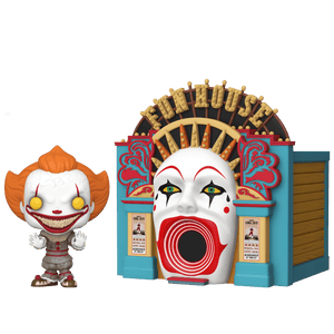 Funko It 2 Pop! Town: IT2 - Demonic Pennywise with Funhouse
