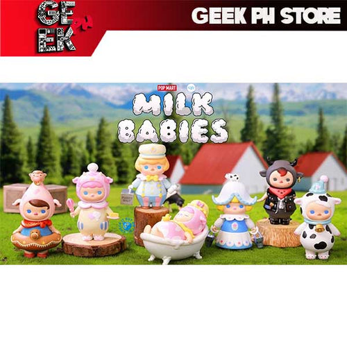 Pop Mart Pucky Milk Babies Case of 6