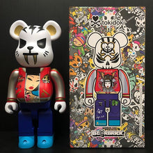 Load image into Gallery viewer, Medicom Bearbrick Tokidoki Electric Tiger 400% Action City Exclusive