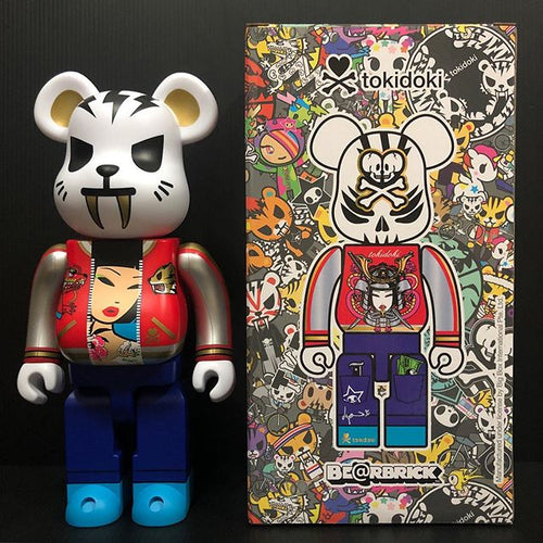 Medicom Bearbrick Tokidoki Electric Tiger 400% Action City Exclusive
