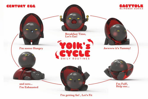 ToyZero + Baby Yolk - Blind box Series (Chinese Preserved Egg)