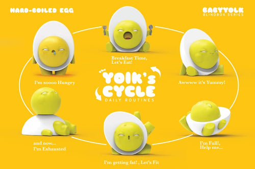 ToyZero + Baby Yolk - Blind box Series