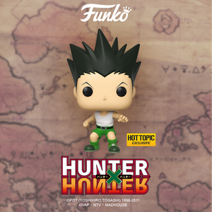 Funko Animation Hunter x Hunter Gon Freecs Jajank Hot Topic Exclusive