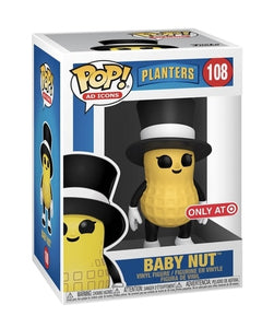 Funko Pop Ad Planters Baby Nut Target Exclusive