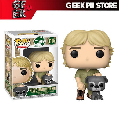 Funko Pop Steve Irwin with Sui Sold by Geek PH Store