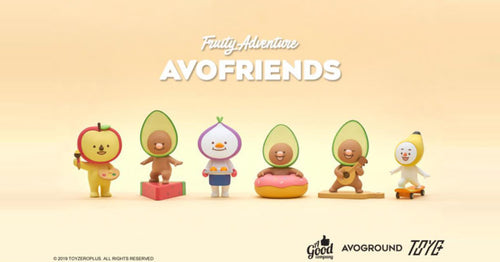 "ToyZero Plus AVOFRIENDS — ""AVO & FRIENDS Classic Series"