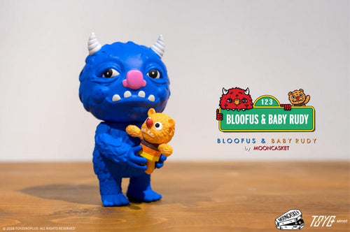 Toyzero Plus BLUE BLOOFUS & BABY RUDY by MoonCasket