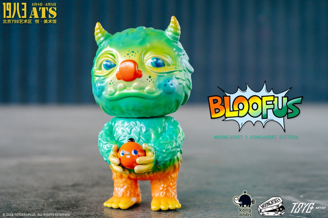 Toyzero Plus Bloofus Summer Soul Edition 2018  by Mooncasket