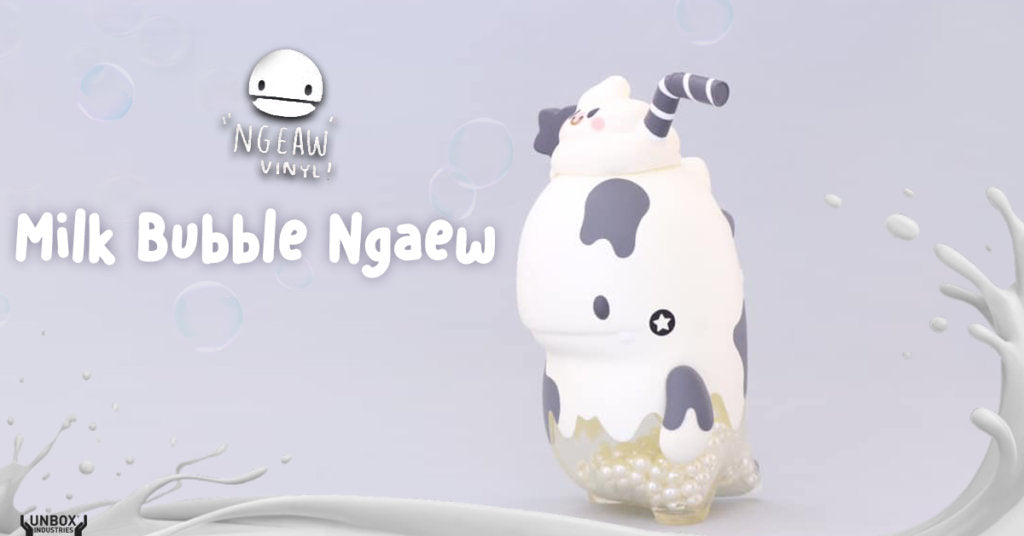 Unbox Industries - Milk Bubble Ngaew by Pang Ngaew Ngaew (Beijing Toy Show 2019)
