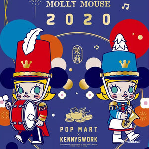 Pop Mart x Kennywork - Molly Mouse 2020