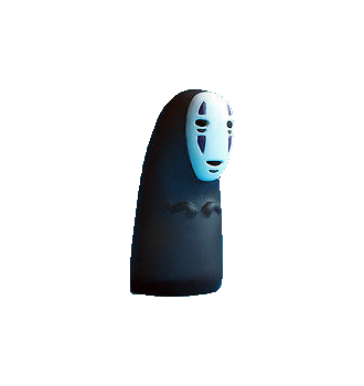 STUDIO GHIBLI NO FACE FINGER PUPPET
