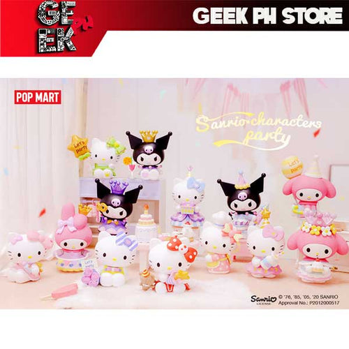 Pop Mart Sanrio Party Random Single Blind Box / Case of 12 sold by Geek PH Store