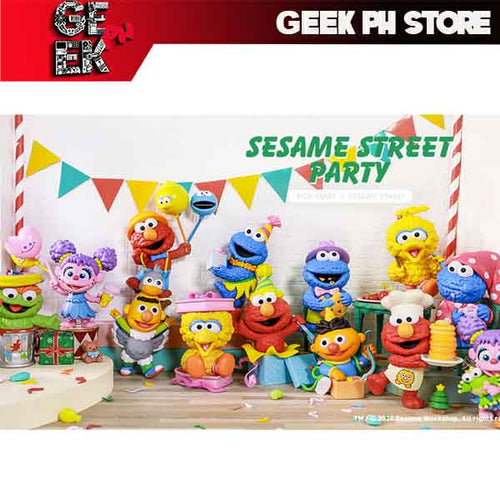 Pop Mart Sesame Street - Street Party Random Single Blind Box / Case of 12 sold by Geek PH Store