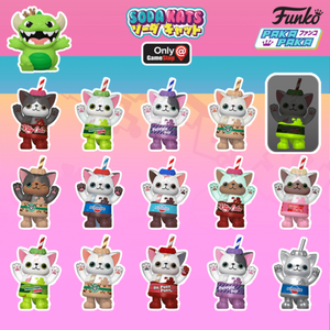 Funko Paka Paka : Soda Kats by Blackseed Random Single Gacahpon