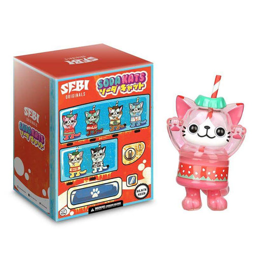 SFBI Originals - SODA KATS by Black Seed Toys Random Single Blind Box