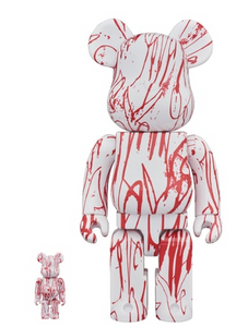Medicom BE@RBRICK Love Me 100 % & 400 % set  Bearbrick