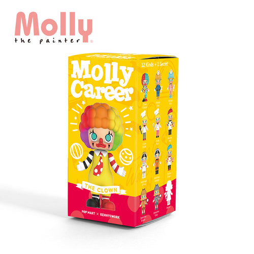 POP MART Molly Career 2 Blind Box by Kennys Work