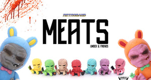 Unbox Industries UNBOX & FRIENDS 'MEATS' BLIND BOX by Retroband